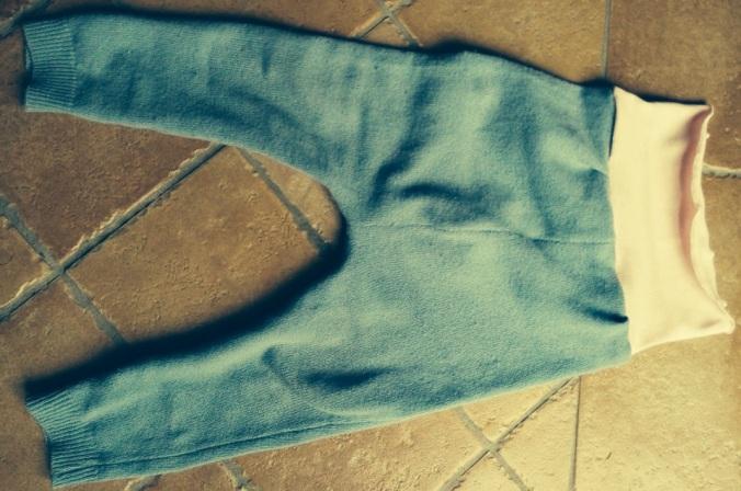 pantaloni gladys azzurri